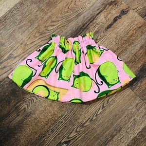 Avacado skirt